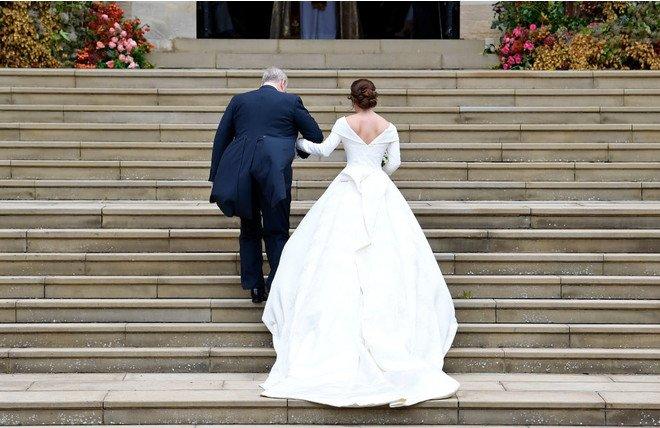 Свадьба принцессы Евгении: гости, первое появление и первый брачный поцелуй