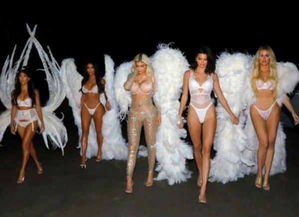Сестры Кардашьян стали новыми ангелами Victoria's Secret?