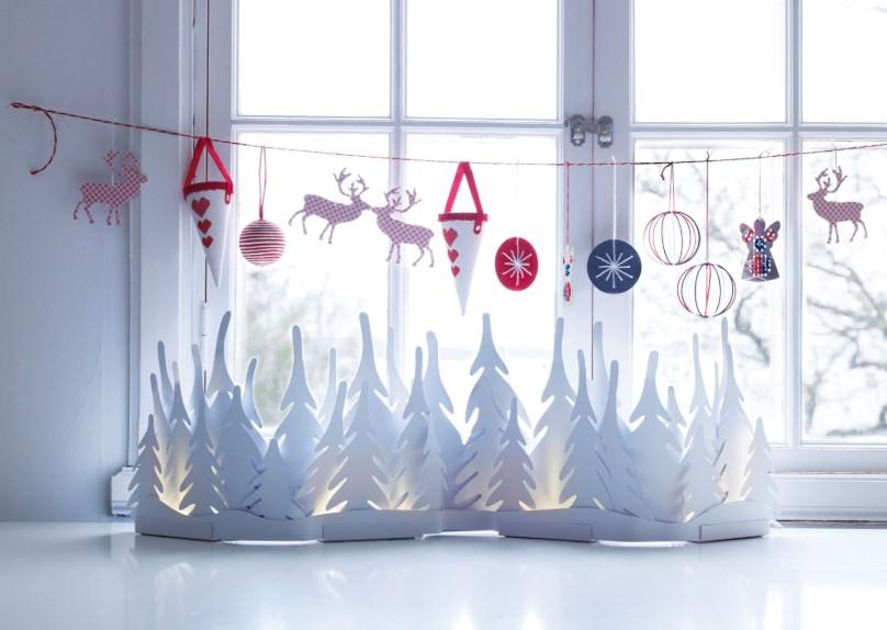 Инструкция по изготовлению новогоднего декора из бумаги