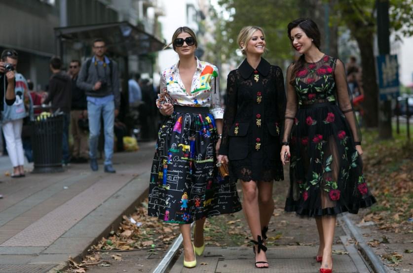 Модные фасоны длинных платьев