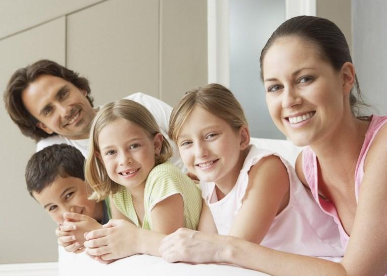 Многодетная семья: правила воспитания