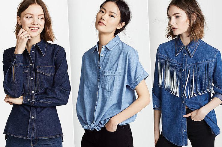 Женские рубашки: без них никуда!