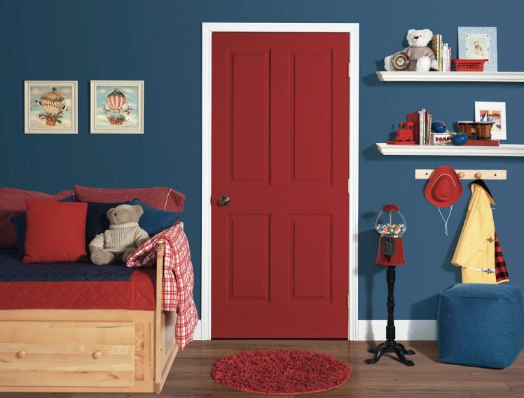 Как выбрать межкомнатную дверь в детскую комнату?