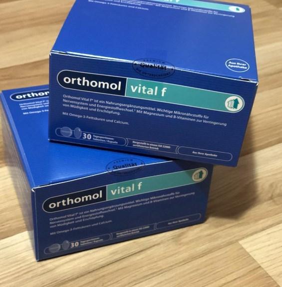 Orthomol Vital F — витамины от усталости и стресса для женщин