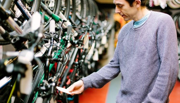 Этапы покупки велосипеда в интернет-магазине