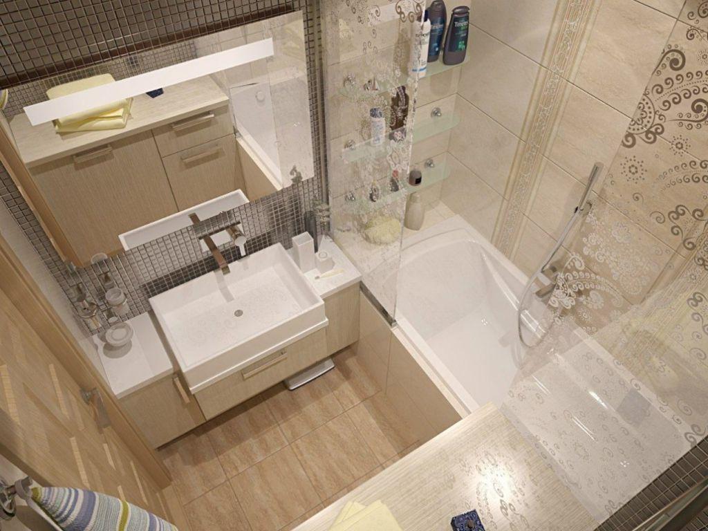 Как преобразить маленькую ванну
