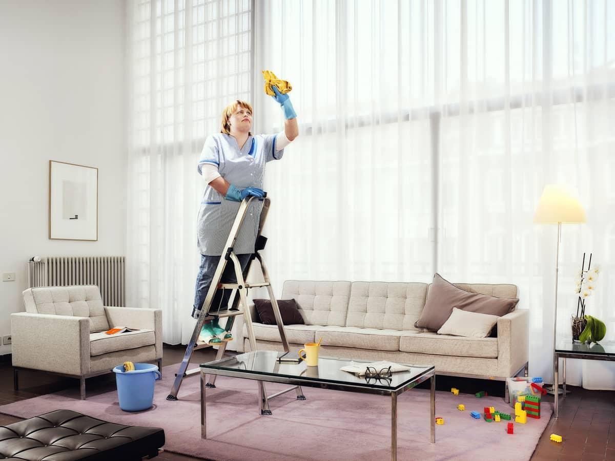 Где заказать уборку квартиры в Киеве