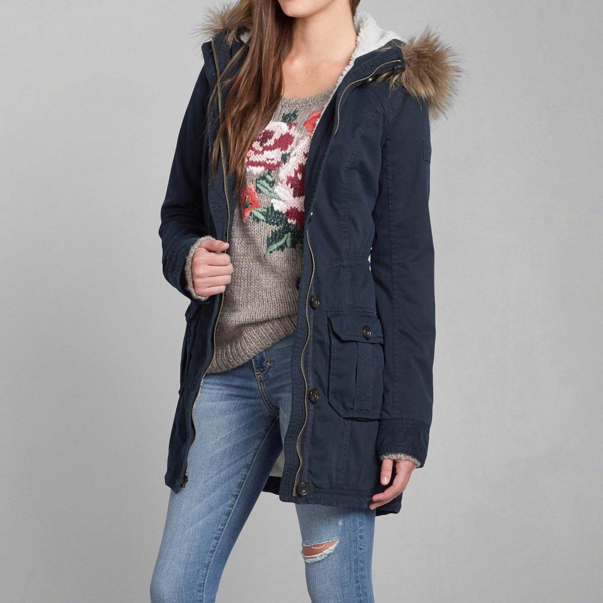 Женская куртка-парка – с чем носить?