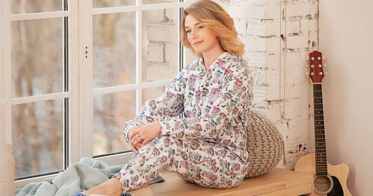 Женские пижамы с карманом на попе