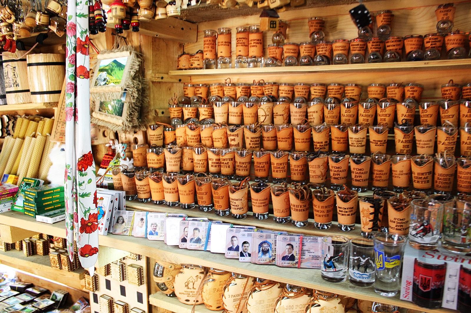 Карпатские сувениры от интернет-магазина «Сувениры, религиозный товар»