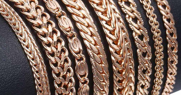Женские и мужские браслеты из золота
