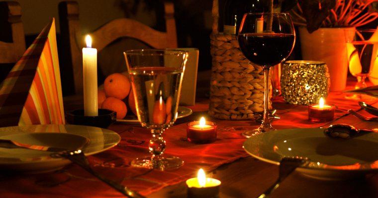 Романтический ужин при свечах: секреты и советы