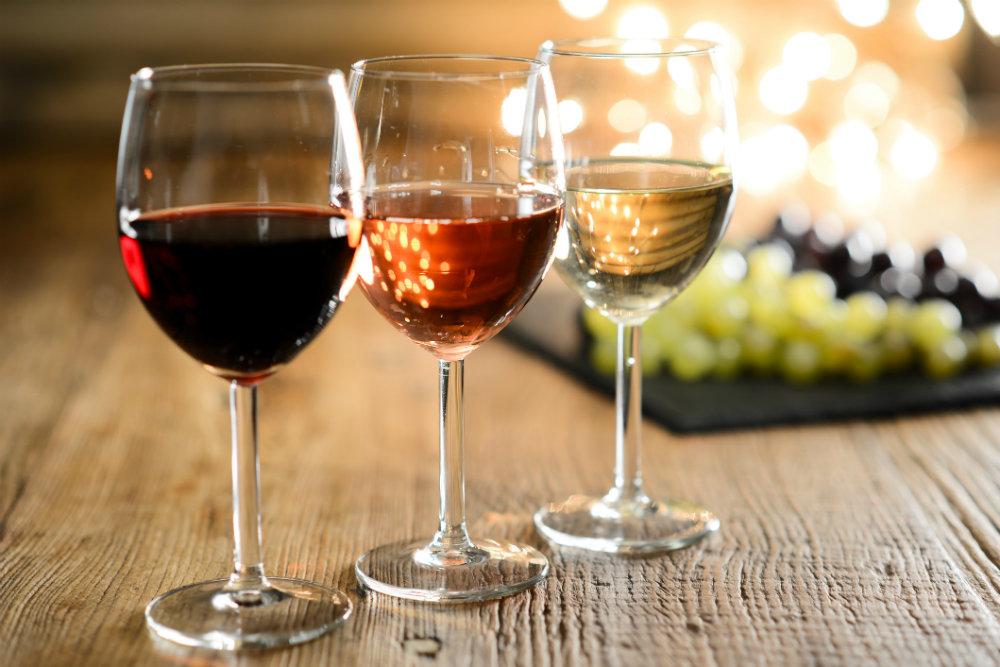 Как делать розовое вино