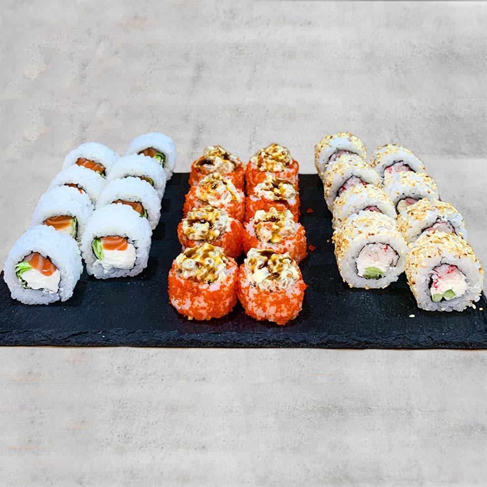 Заказать суши с доставкой в Бучу, Ворзель, Гостомель и Ирпень