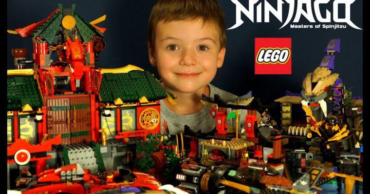 Конструкторы серии Lego Ninjago