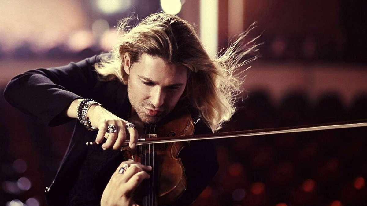 Билеты на David Garrett — «скрипач дьявола» снова в Киеве
