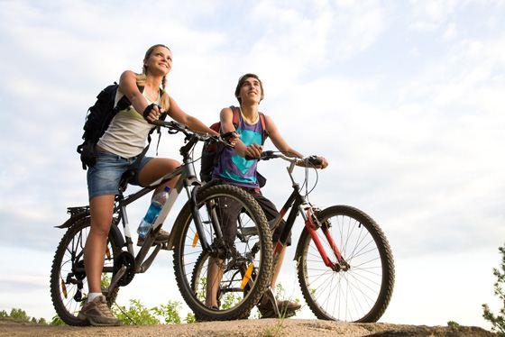 Езжай на велосипеде и экономь!