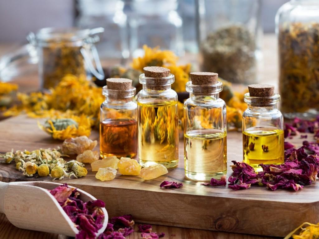 О эфирных маслах