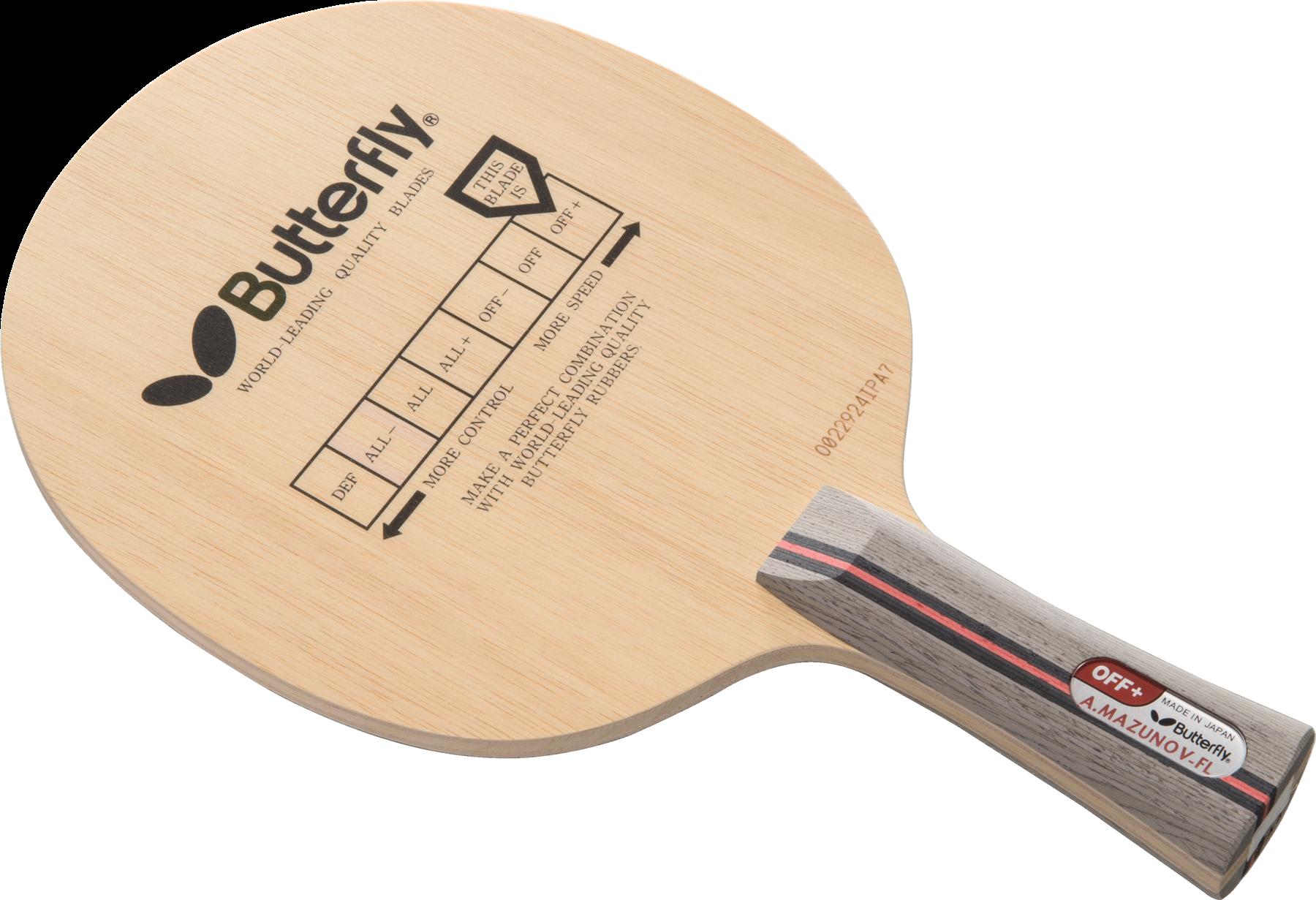 Основания для ракеток Butterfly: особенности и преимущества