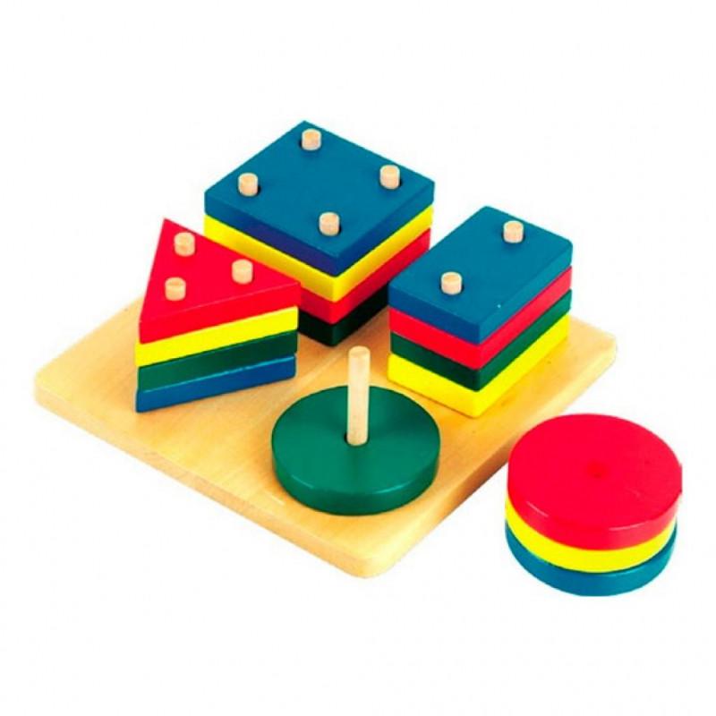 Развивающие игрушки для детей в 3 года