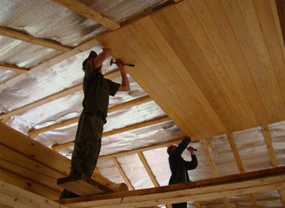 Как сделать потолок в частном доме теплее
